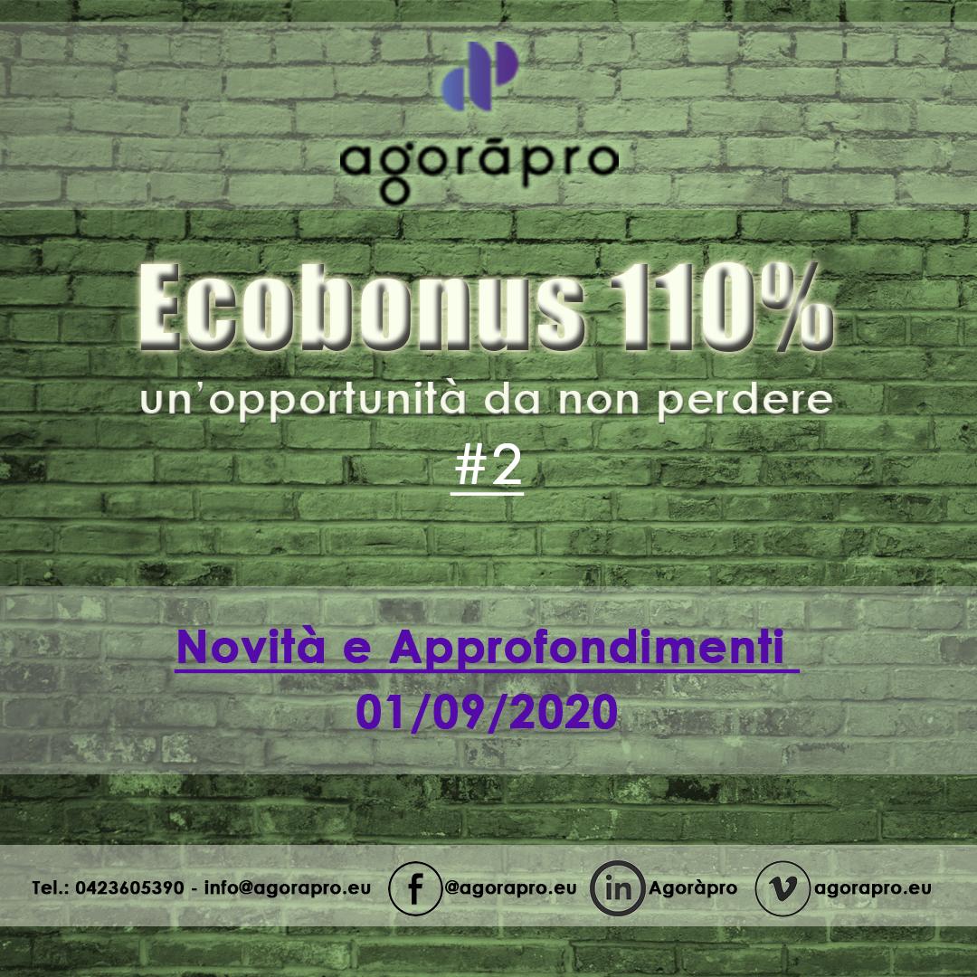[Video] Ecobonus 110% #2 - Approfondimenti del 02/09/20