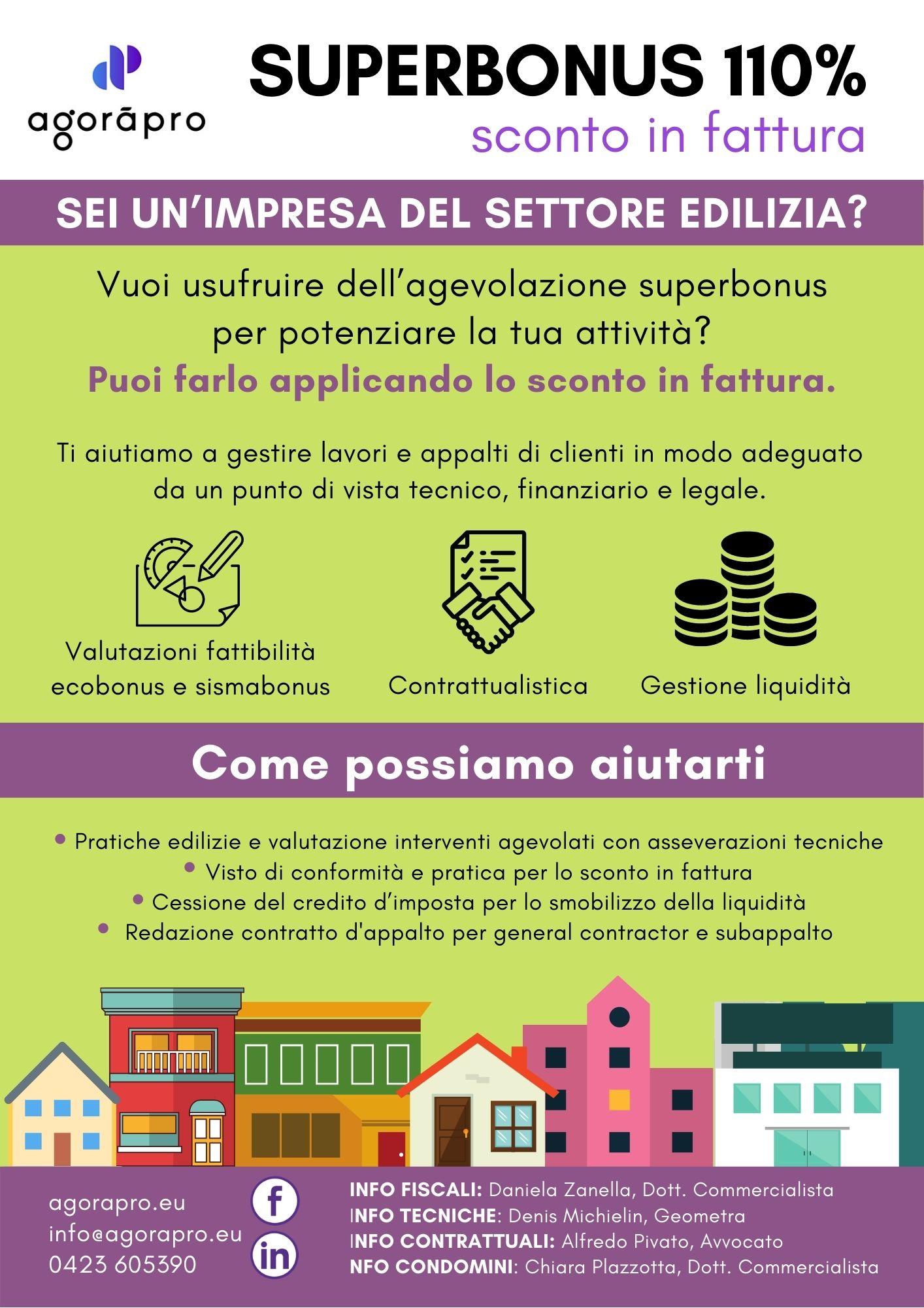 Sei un'impresa del settore edilizia?