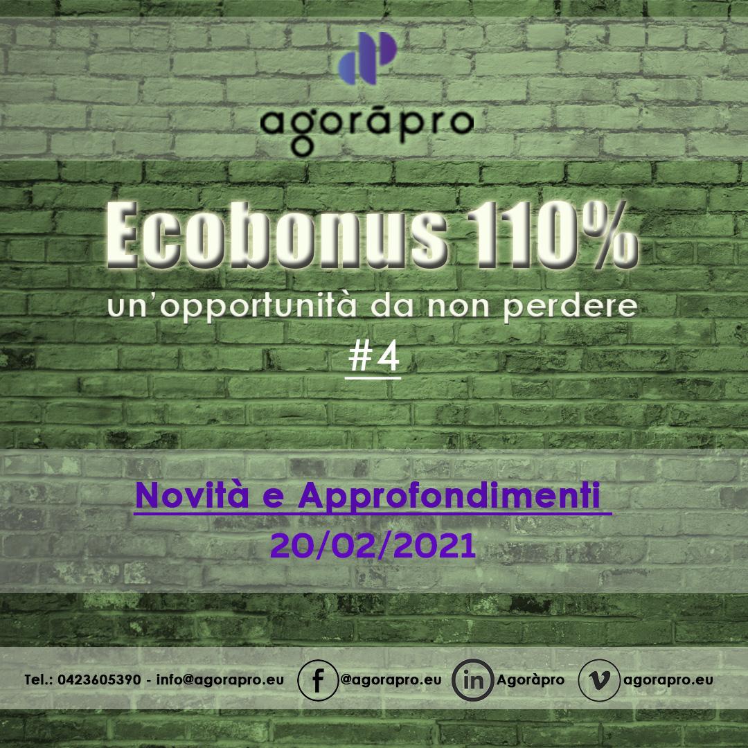 Agoràpro - Video 4 - Approfondimenti Superbonus 110% dal Team110 di Agoràpro - Daniela Zanella e Avvocato Alfredo Pivato